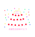 誕生日お祝いしよう