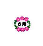 お花のリース*日常*月齢*連絡(個別スタンプ:06)