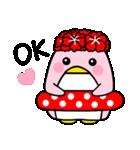 ピンクのペンギンさん。(個別スタンプ:23)