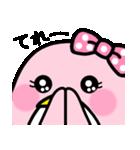 ピンクのペンギンさん。(個別スタンプ:40)