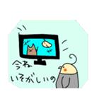 ぶちゃいくオカメちゃん(個別スタンプ:06)