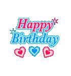 ずっと使える❤️可愛いお誕生日&メッセージ