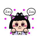 DOLLY DOLLY 6 (CAT EARS)(個別スタンプ:05)