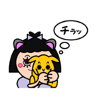 DOLLY DOLLY 6 (CAT EARS)(個別スタンプ:15)