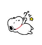 ゆる~い♪スヌーピー オノマトペスタンプ(個別スタンプ:03)