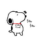 ゆる~い♪スヌーピー オノマトペスタンプ(個別スタンプ:14)
