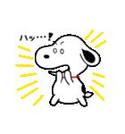 ゆる~い♪スヌーピー オノマトペスタンプ(個別スタンプ:18)