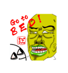 狂氣一色(個別スタンプ:24)