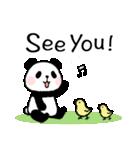ほのぼのパンダさん。2(個別スタンプ:40)