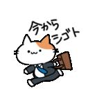 おじさん猫(肥満)の日常(個別スタンプ:01)