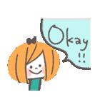 クレヨンガール★(個別スタンプ:01)