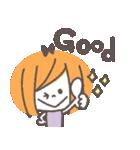 クレヨンガール★(個別スタンプ:02)