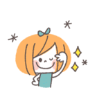 クレヨンガール★(個別スタンプ:04)