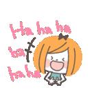 クレヨンガール★(個別スタンプ:06)