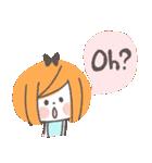 クレヨンガール★(個別スタンプ:25)