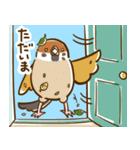 ことり(すずめぶんちょうキンカチョウ)(個別スタンプ:03)