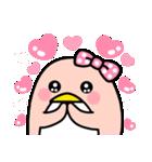 ピンクのペンギンさん。季節の彩り(個別スタンプ:31)
