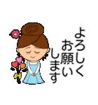 あかぼーママと犬っころ(母娘の日常会話)(個別スタンプ:13)