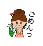 あかぼーママと犬っころ(母娘の日常会話)(個別スタンプ:15)