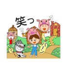 あかぼーママと犬っころ(母娘の日常会話)(個別スタンプ:36)