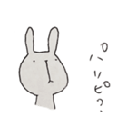 鼻の下長い系うさぎ(個別スタンプ:08)