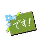 明るいカラフル大文字 & うさこ(個別スタンプ:05)