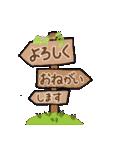 明るいカラフル大文字 & うさこ(個別スタンプ:13)