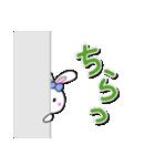 明るいカラフル大文字 & うさこ(個別スタンプ:21)