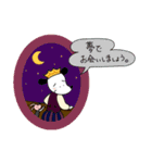 WanとBoo (王子さま編)(個別スタンプ:40)