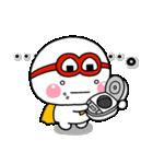 しろまるくんの【はらぺこ戦士炊飯ジャー】(個別スタンプ:16)