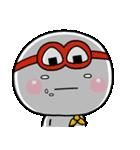 しろまるくんの【はらぺこ戦士炊飯ジャー】(個別スタンプ:36)