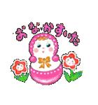 なかよし文化人形(個別スタンプ:06)