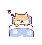 柴犬あんこ あいさつ編(個別スタンプ:03)