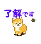 ちび秋田犬 連絡(個別スタンプ:14)