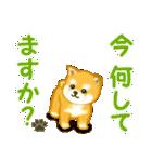 ちび秋田犬 連絡(個別スタンプ:16)