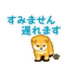 ちび秋田犬 連絡(個別スタンプ:36)