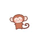 元気な猿さん(個別スタンプ:01)