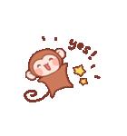 元気な猿さん(個別スタンプ:02)
