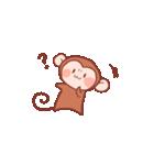 元気な猿さん(個別スタンプ:05)