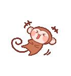 元気な猿さん(個別スタンプ:09)
