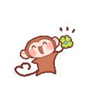 元気な猿さん(個別スタンプ:15)