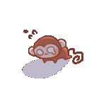 元気な猿さん(個別スタンプ:28)