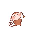 元気な猿さん(個別スタンプ:29)