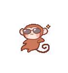元気な猿さん(個別スタンプ:30)