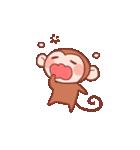 元気な猿さん(個別スタンプ:32)