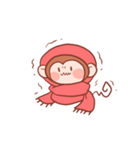 元気な猿さん(個別スタンプ:35)