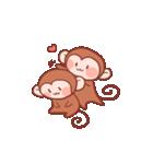 元気な猿さん(個別スタンプ:36)
