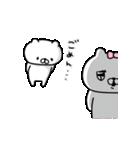 動く♡会話にクマを添えましょう【愛】(個別スタンプ:22)