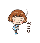 女子だから‥‥【CAFE編】(個別スタンプ:19)