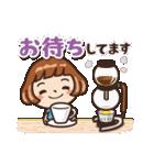 女子だから‥‥【CAFE編】(個別スタンプ:29)
